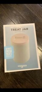 Magisso Happy Pet Project DOG Treat Jar Light Blue