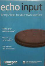 Amazon Echo Input – BRAND NEW - Bring Alexa to your own speaker - Black $38.00
