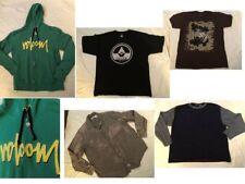 Lot 5 Mens Hoodie Shirts & Tees Sz XL Volcom, Levi Strauss, BombSquad & Puritan