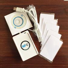 NFC ACR122U RFID Reader Writer + SDK+5 pcs UID Cards + MF1K Card Clone Software