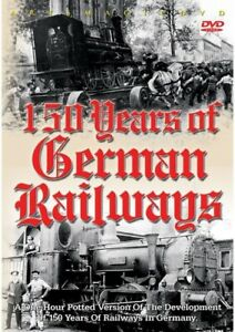 150 Years of German Railways [New DVD]