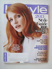In Style V22N1- 2015 Style Guide, Jessica Chastain - January 2015