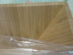 """Pampered Chef Bamboo Salad Bowl, 11"""" Square, New in Package"""