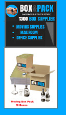 10 x Box Value pack Moving Boxes & Supplies