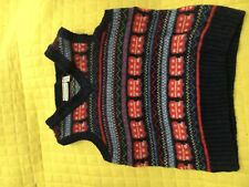 Jojo Maman Bebe Boys Wool Tank Top/Vest. 2-3 Years
