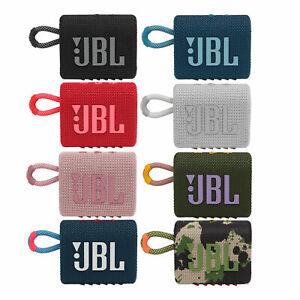 JBL Go 3 Bluetooth Lautsprecher Wireless Mini Speaker Wasserfest Staubfest Akku