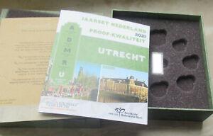 """Niederlande 2021 - LEERE BOX für PP KMS """" UTRECHT """" mit Silber Barren"""