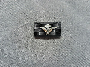 (C1) Bandspange Fallschirmjäger Frankreich Springerabzeichen Airborne BW