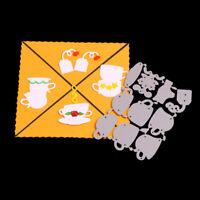 Stanzschablone Tee Kaffee Set Oster Weihnachts Hochzeit Geburtstag Album Karte