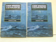 TWO VOL.U-Boat Operations of the Second World WaR, By Kenneth Wynn-NEW!!