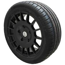 "18"" Black M Sport Alloy Wheels Tyres Ford Custom Transit 5x160 Van Load Rated"