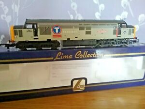 LIMA CLASS 37 37906 STAR OF THE EAST IN TRANSRAIL LIVERY. LOCO IS NEW