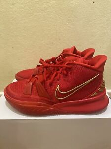 Nike Men's Kyrie 7 Nike By You Red October Gold [DA7567-991] Sz 9 New