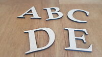 6 mm Thick MDF Wooden Letters & Numbers Choice of Heights 5 cm to Large 60 cm