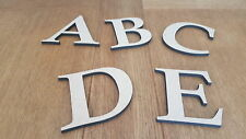 6 mm Thick MDF Wooden Letters & Numbers Choice of Heights 10 cm to Large 60 cm