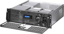 "3U (Lock Door)F-LCD(ATX/ITX)(3x5.25""+5xHDD Bay)(Rackmount Chassis)D:15"" Case NEW"