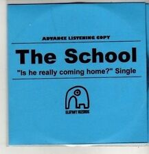 (CM654) The School,  Is He Really Coming Home? - 2010 DJ CD