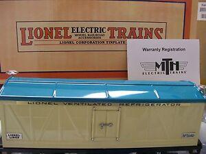 Lionel Corporation item 11-30076  Ivory & Blue  514R  Refrigerator Car MTH * NEW