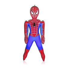 60cm Inflatable Spiderman Figures Toy Character Figure Super Hero Amazing Role