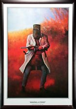 AUSTRALIAN HISTORY NED KELLY MAKING A STAND FRAMED LIMITED EDITION SIGNED