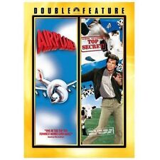 Airplane !/ Top Secret     DVD Double Feature  LIKE NEW