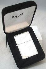 Zippo Vintage High Polish Sterling Silver Lighter # 14