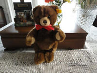 Steiff Petsy Teddy Bear Brown 012556 1991 - 2002 28 cm