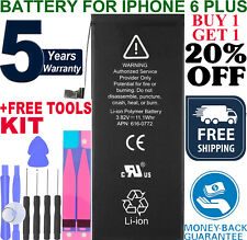 New Replacement Battery For iPhone 6 PLUS A1522 A1524 + Adhesive + DIY +TOOLS
