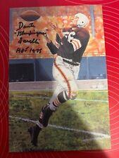 Dante Lavelli Autographed Signed Goal Line Art Browns