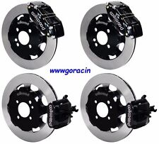 "WILWOOD DISC BRAKE KIT,2002-2013 MINI-COOPER,BMW,12"" ROTORS,BLACK CALIPERS"