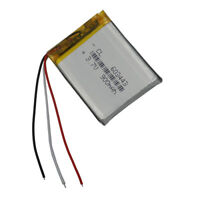 3.7V 900 mAh 3 wires thermistor Polymer Li Lithium CellS for GPS DVD PDA 603443