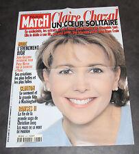 Affiche Pub Paris Match Claire Chazal 59x78 cm