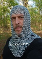 Armor Chainmail Hood For Battle Reenactment Halloween Costume