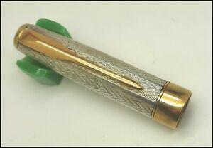 Original Parker Sonnet SS Fougere Fountain Pen Cap PART, France. (#MI222)