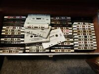 Huge Lot Of 77 Cassette Tapes Rock N Roll Pop 70s 80s Ozzy Osborne Aerosmith