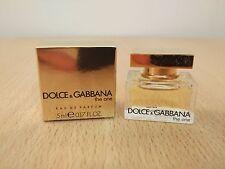 Dolce & Gabbana The One for Women 5 ml EDP MINI MINIATURE PERFUME FRAGRANCE New