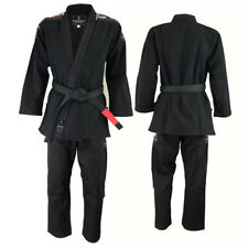 VERUS Gladius BJJ Gi Black A2 Kimono Jiu Jitsu MMA Grappling Uniform Jiu Jitsu