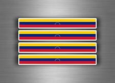 4x sticker decal car stripe motorcycle racing flag bike moto tuning venezuela
