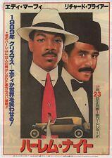 Harlem Nights 1989 B Eddie Murphy Japanese Chirashi Flyer Poster B5
