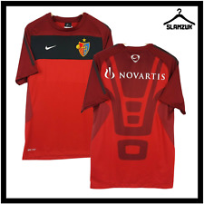 More details for basel football shirt nike s small training kit soccer jersey fcb super league