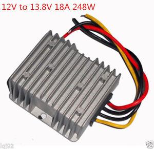NEW Voltage Booster Power DC Converter Step Up Regulator 12V to 13.8V 18A 248W