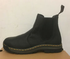 DR. MARTENS 2976 BLACK INUCK    LEATHER  BOOTS ,, SIZE UK 10