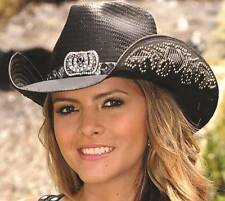 Bullhide Hats Cowgirl Fantasy Straw Western Cowboy Hat 2640 M Black d256e9a8dce