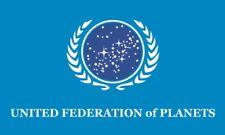 Fahne Flagge United Federation of Planets 90 x 150 cm