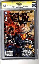 Forever Evil (2013) # 1 - 1:25 Ultraman RI CGC 9.4 WHITE Pgs - SS Reis & Finch