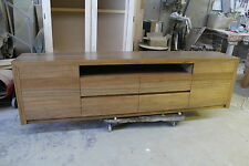 local made spotted gum hardwood timber lowline tv entertainment unit