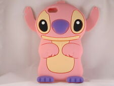 "For IPhone 6 6s Plus 5.5"" 3D Lilo Stitch Soft Silicone Character Case Pnk"