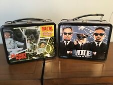 2001 Planet of the Apes and Men in Black Ii Lunchboxes and Thermoses