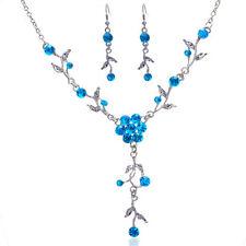 Rhinestone Gemstone Costume Jewellery Sets