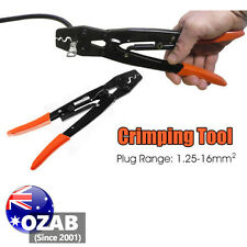 1.25 - 16mm² Cable Crimper Anderson Plug Lug Battery Non Inslated Crimping Tool